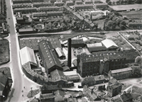 Aerial View of Manor Mill, Yeadon.