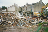 Albion Dyeworks Demolition, Guiseley. 1997