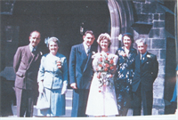 Sam and Margaret Kilburn Wedding