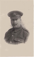 John Ibbitson. Killed in action in France July 14th 1916