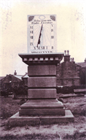 Sundial at Baptist CHapel Rawdon