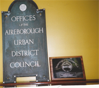 AUDC Sign & Fairfield Plaque (1940)