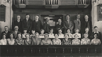Chapel Hill Methodist Choir 1955