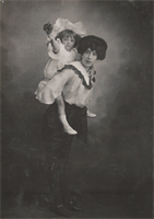 Nellie Waterhouse and her daughter Dolly