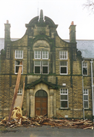 Aireborough Grammar School Demolition 1992